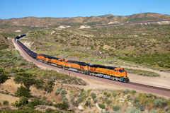 Trains are diesel oil transportation. Trains are transporting gasoline and large quantities Stock Photos