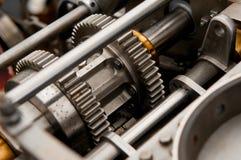 Trains en métal Image libre de droits