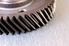 Trains en métal Photographie stock libre de droits