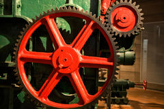 Trains industriels Image stock