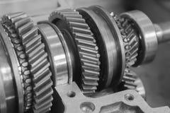 Trains mécaniques Photographie stock