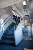 trains modernes intérieurs du banlieusard i de véhicules Photo libre de droits