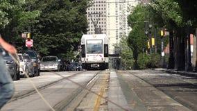 Trains, Rail Cars, Tracks, Transportation stock video