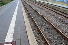 Trains, railroads and trains in germany stock photo