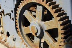 Trains rouillés image libre de droits