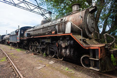 Trains Scrapped Steam Locomotives stock images