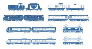 Trains Royalty Free Stock Photography