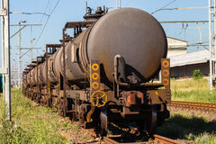 Trains Tanker Carriers Royalty Free Stock Images