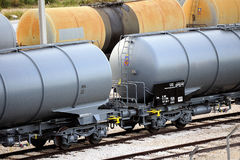 Trains tanker Royalty Free Stock Photo
