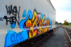 Trains Tracks Of Art Royalty Free Stock Photos