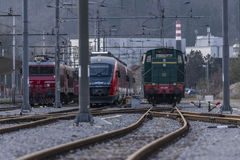 Trains Stock Image