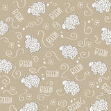 Trains, wagons and rails , doodle  seamless pattern Royalty Free Stock Photos