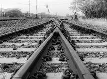 Trainscape 免版税库存照片