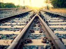 Trainscape image stock