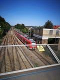 TrainStation foto de archivo libre de regalías