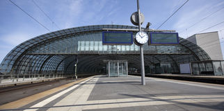 Trainstation royalty free stock image