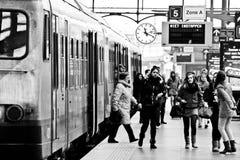 TrainStation Fotografie Stock Libere da Diritti