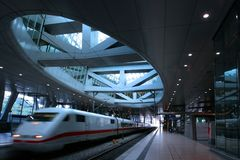 Free Trainstation Royalty Free Stock Photography - 924137