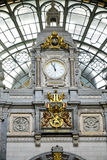 Trainstation in Antwerpen Belgium Royalty Free Stock Images