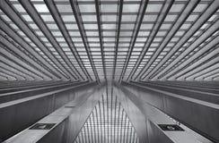 Trainstation Liège Belgique Photo libre de droits