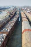 Trainstation in Cheb Fotografie Stock Libere da Diritti