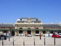 Trainstation van Nice Stock Afbeeldingen