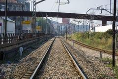 Traintrack Foto de archivo libre de regalías