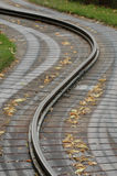 traintrack Obraz Royalty Free