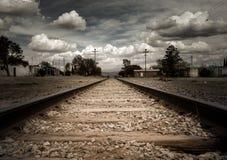 Traintracks stock photos