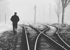 Trainway Στοκ φωτογραφίες με δικαίωμα ελεύθερης χρήσης