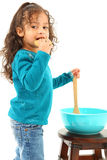 Traitement au four d'enfant image stock