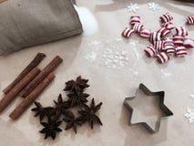 Traitement au four de Noël Image stock