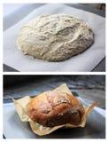 Traitement au four de pain photographie stock