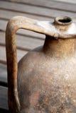 traitement d'amphora vieux Photos stock