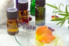 Traitement d'Aromatherapy photographie stock libre de droits
