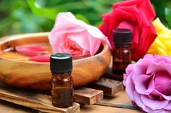 Traitement d'Aromatherapy Photographie stock