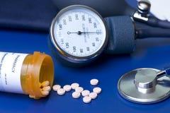 Traitement d'hypertension photos libres de droits