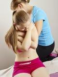 Traitement d'ostéopathie Photos stock