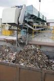 Traitement de déchets Image libre de droits