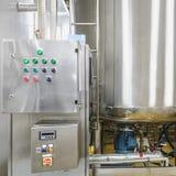 Traitement de l'eau ou pièce de distillation Photographie stock
