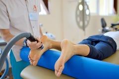 Traitement de thérapie d'ultrason Image libre de droits