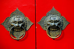 Traitement de trappe chinois Images stock