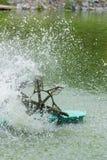 Traitement de turbinewater d'aérateur Photos libres de droits