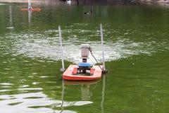 Traitement des eaux résiduaires Image libre de droits