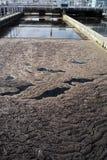 Traitement des eaux usées  Photo libre de droits