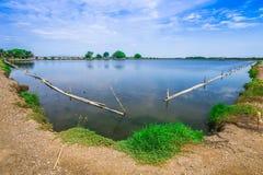 Traitement des eaux usées Thaïlande Photo libre de droits