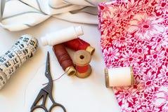Traitement différé d'amorçage Cousez les accessoires photographie stock