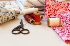 Traitement différé d'amorçage Cousez les accessoires Photos stock