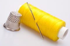 Traitement différé d'amorçage pour la couture Images libres de droits