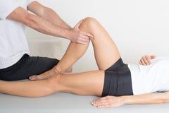 Traitement orthopédique Photographie stock
